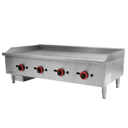 Gas Countertop Griddle Quad Control - EGG-48SX